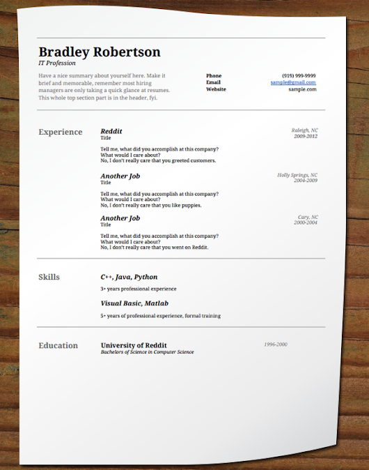 fancy resume templates