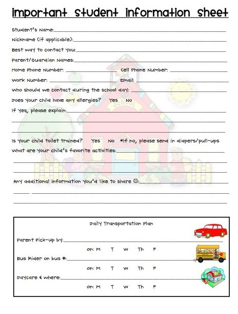 6 information sheets Custom paper Academic Service - personal info sheets