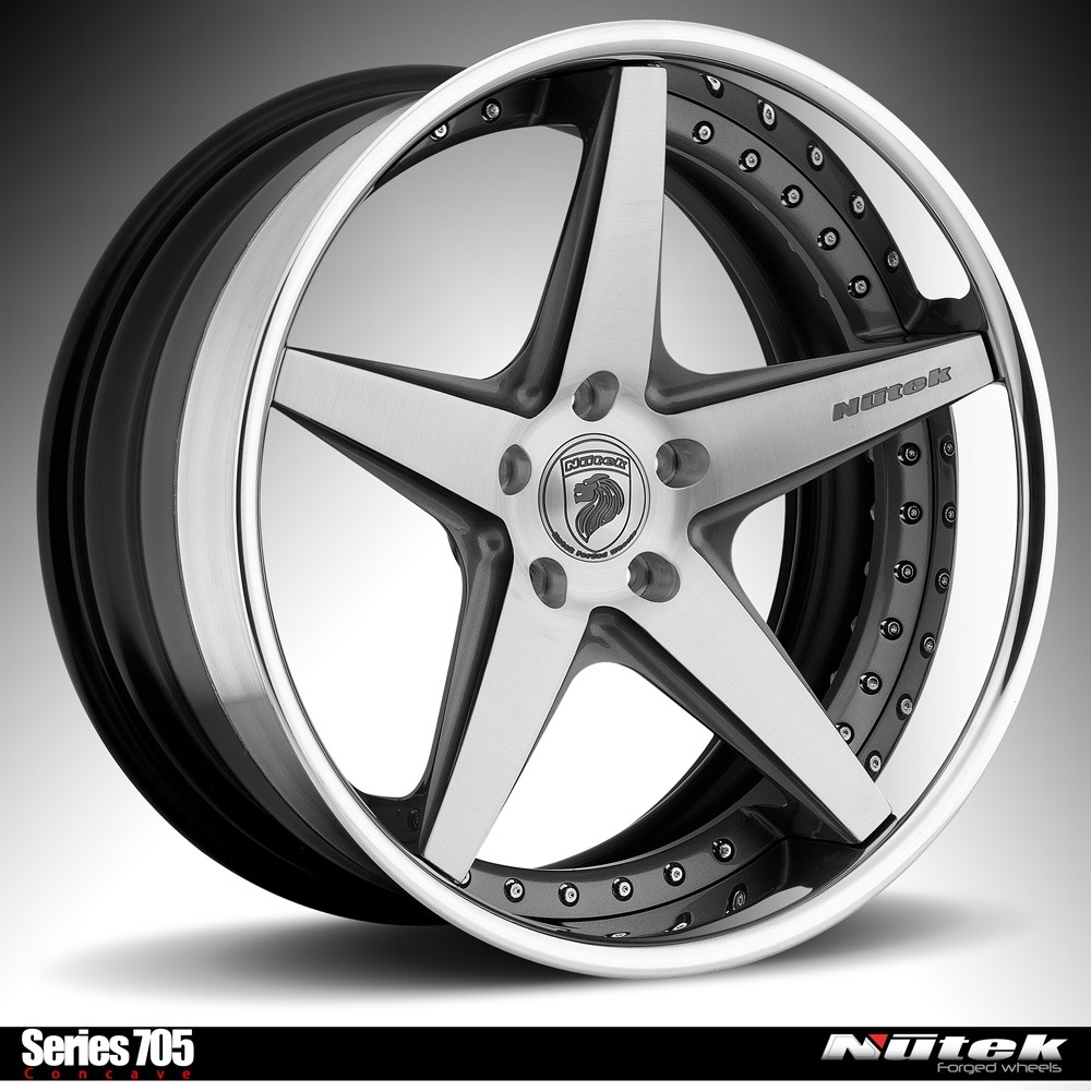 Nutek Forged Wheels: The all new Series 700 Concave design ...