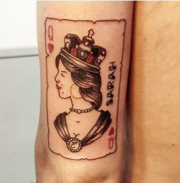 50 Attractive Queen Tattoos Designs for Women (2017 ...