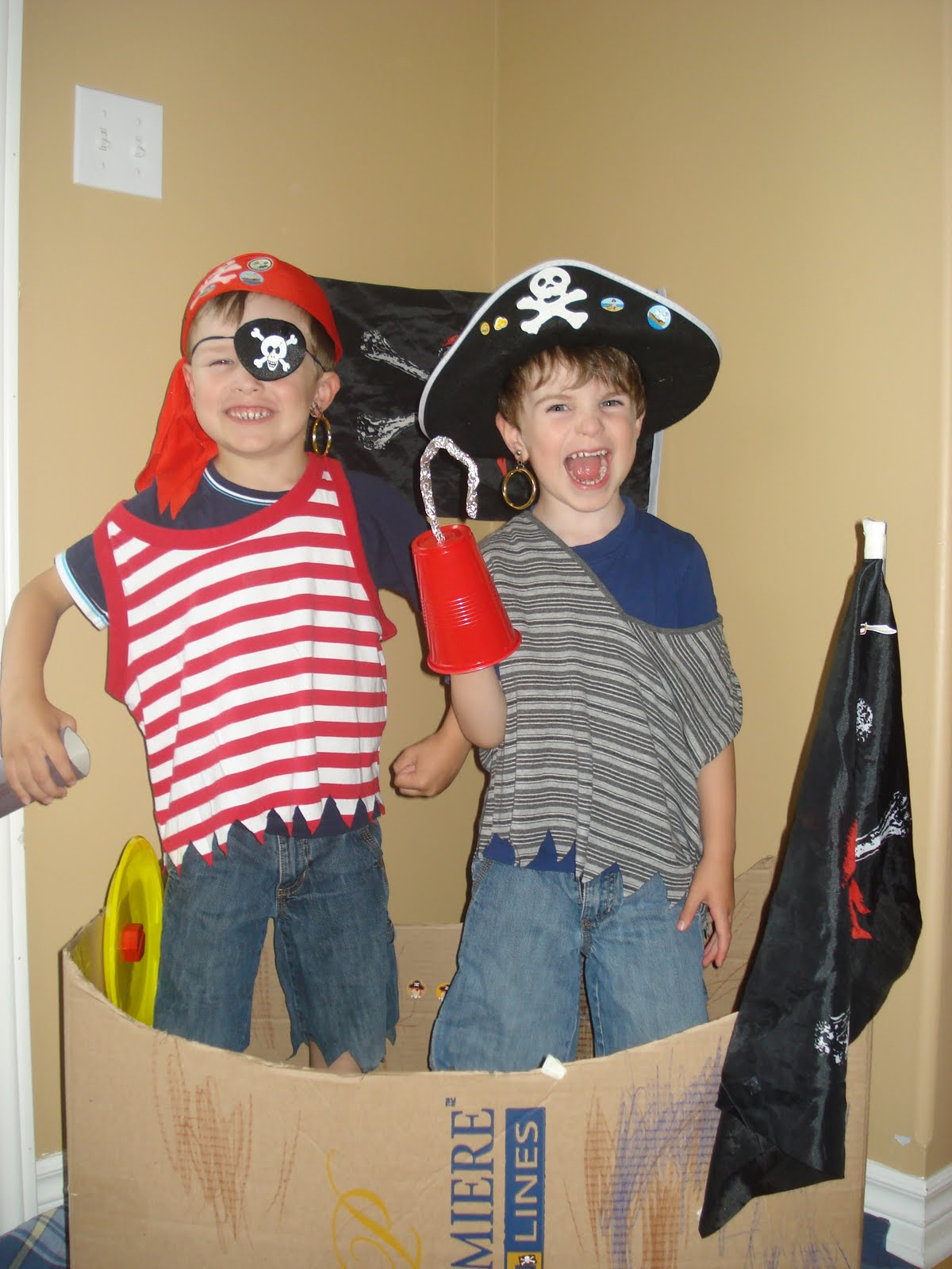 East coast mommy 20 awesome no sew costumes for kids - Disfraces halloween caseros ...