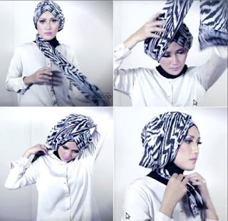 Tutorial hijab turban modern