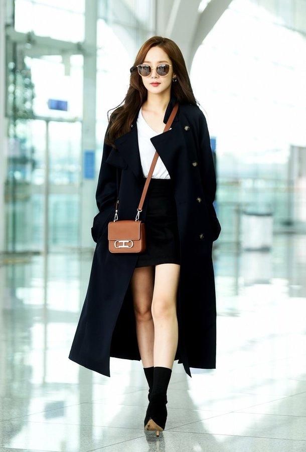 Netizens Criticize Park Min Young S Body Proportions