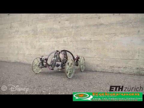 Ilustrasi VertiGo, Robot Yang Pandai Memanjat - Kabarwan