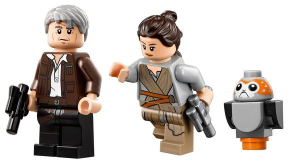 First Wave of The Last Jedi Lego Sets & Hasbro Action
