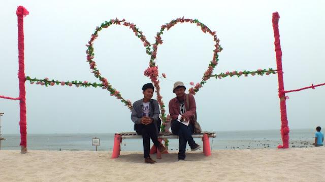 Pantai Romatis, Romance Bay di Perbaungan, Serdang Bedagai