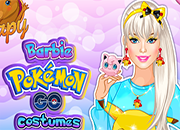 Barbie Pokemon Go Costumes juego