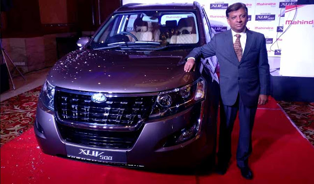 Mahindra launches Plush New XUV500 in its SUV segment