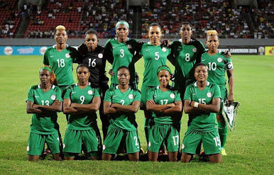 football - Nigeria's Super Falcons beat South Africa 1-0 to book a Space in AWCON Finals