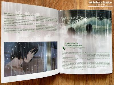 """""""El Jardín de las Palabras"""" digibook de Makoto Shinkai"""