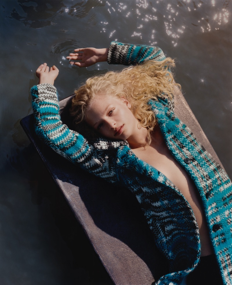 Frederikke Sofie by Harley Weir for Missoni Autumn/Winter 2016 Campaign