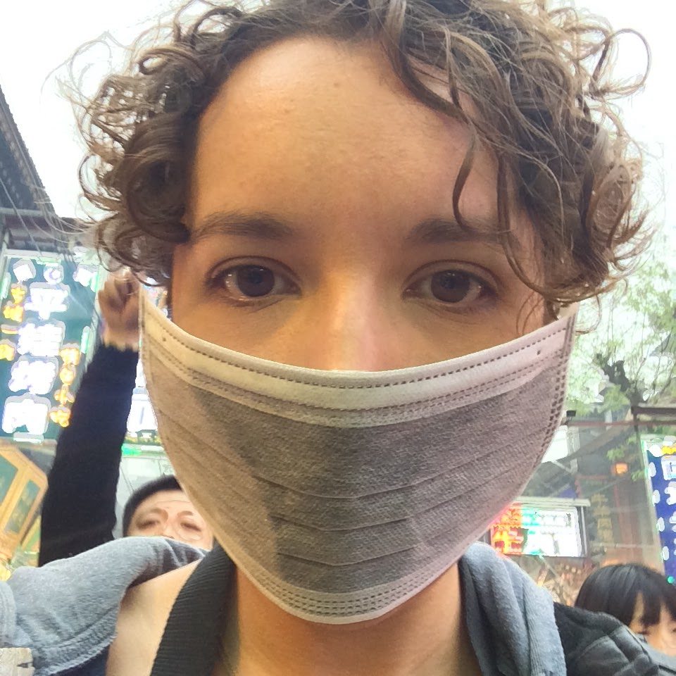 pollution mask in china