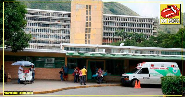 Dejó de funcionar la Planta Eléctrica del Hospital Central de Maracay