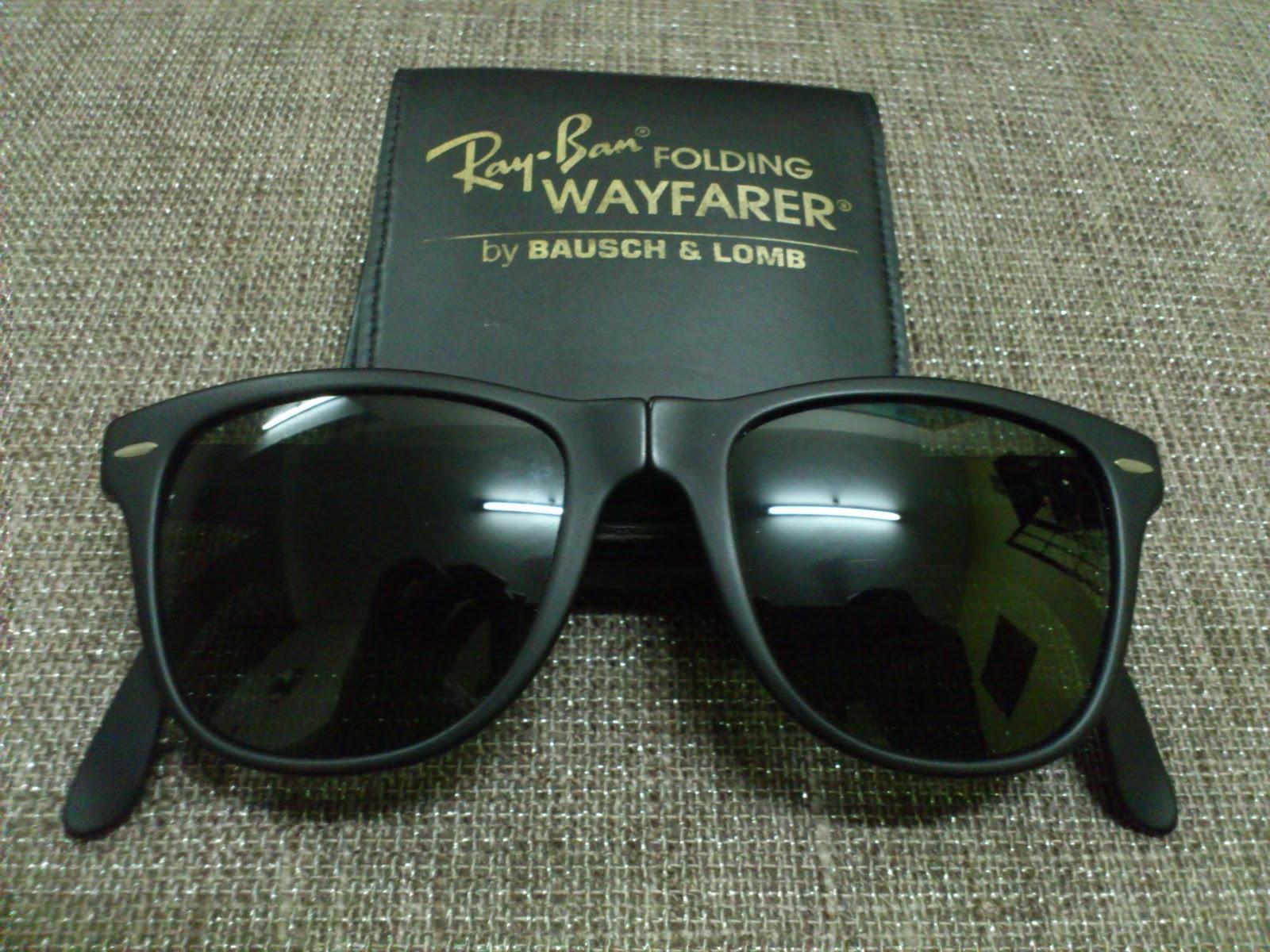 3b4c371ef6 Vintage Bausch   Lomb Rayban Sunglasses  (SOLD)Ray Ban Folding ...