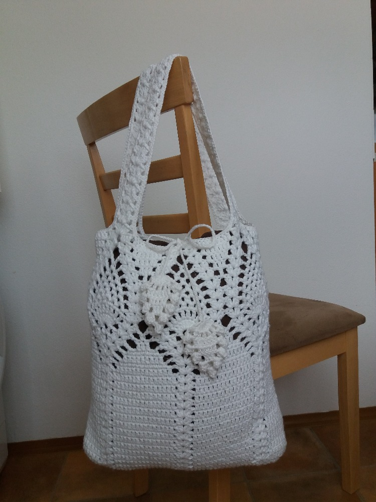 Emmhouse Pineapple Top Marketshoulder Bag Full Written Pattern