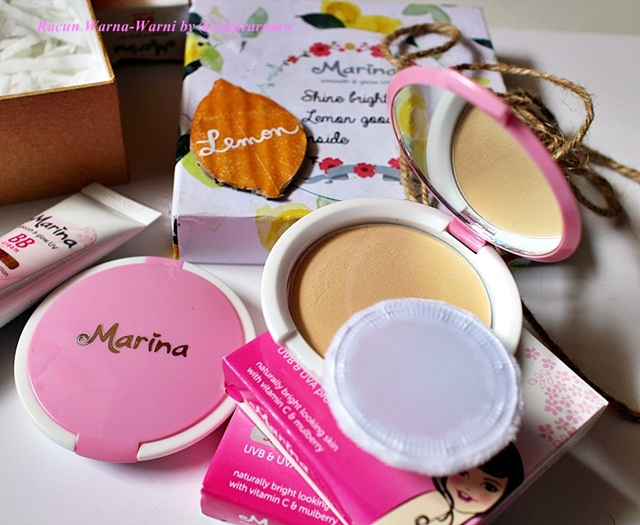 Unboxing Compact Powder Marina