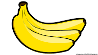 cute banana clipart