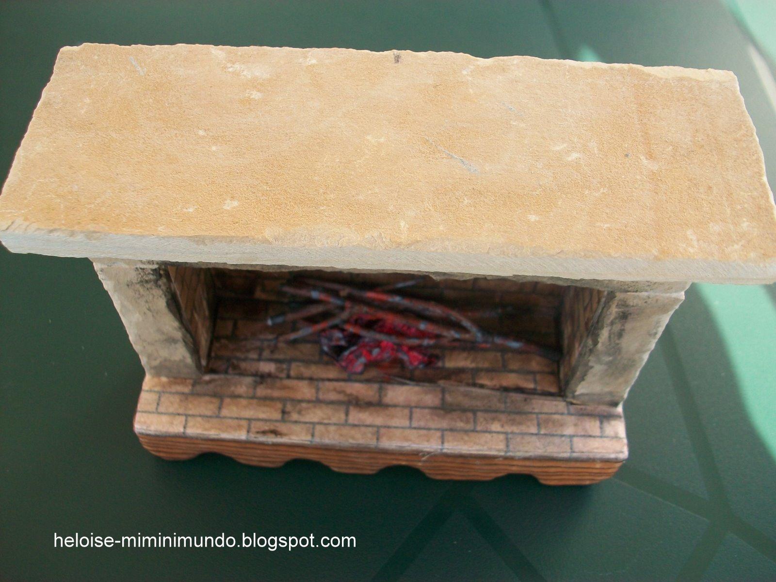 Casitas vs cositas la casa de mari puri chimenea de piedra de verdad - Poner chimenea en casa ...