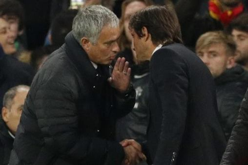 Jose Mourinho accused Chelsea coach Antonio Conte of humiliating Man U (photos)