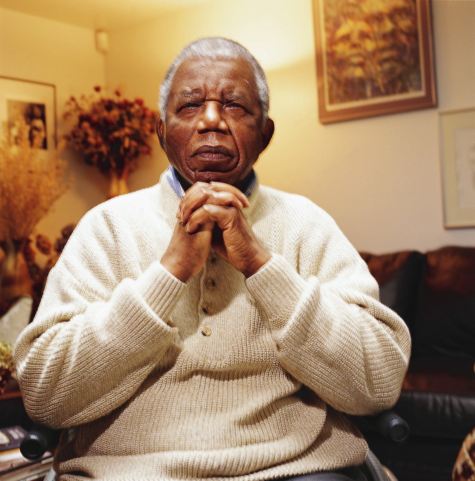 Nigerian Author Chinua Achebe, Who Wrote 'Things Fall