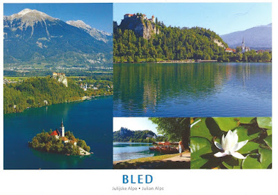 SLOVENIA ~ Lake Bled - Julian Alps ~