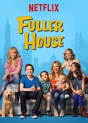 Fuller House - Três é Demais Séries Torrent Download capa