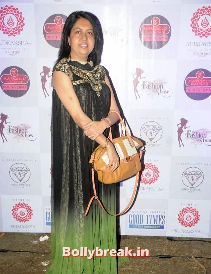 Swati Lomba, Rohit Verma's Fashion Show Pics