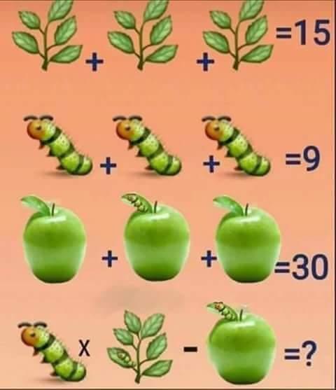 Plant Caterpillar Apple Puzzle