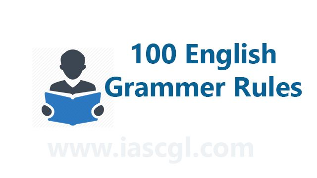 100 English Grammer rules.