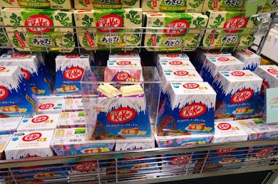 Strawberry Cheesecake Kitkat at Fujisan World Heritage Site Japan