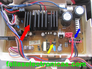 tarjeta electronica de lavadora samsung eco bubble