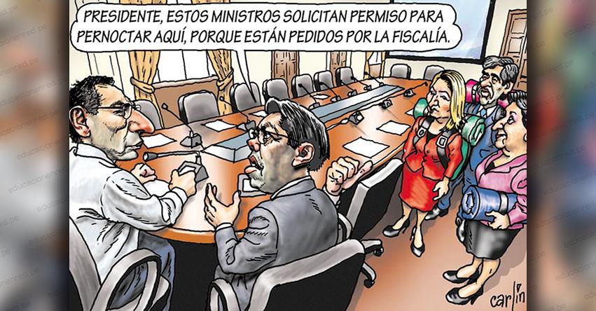 Carlincaturas Miércoles 4 Marzo 2020 - La República