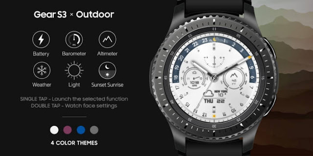 Watchface Samsung Gear S3