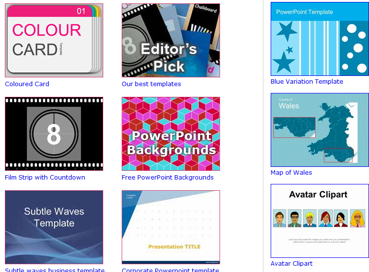 how to download free powerpoint templates