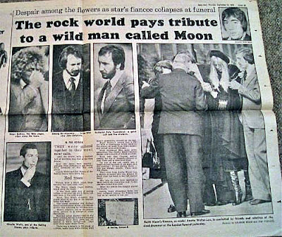 Keith Moon dead at age 32... September 7, 1978