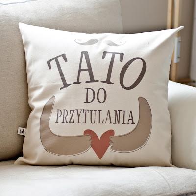 poduszka dla taty tato do przytulania