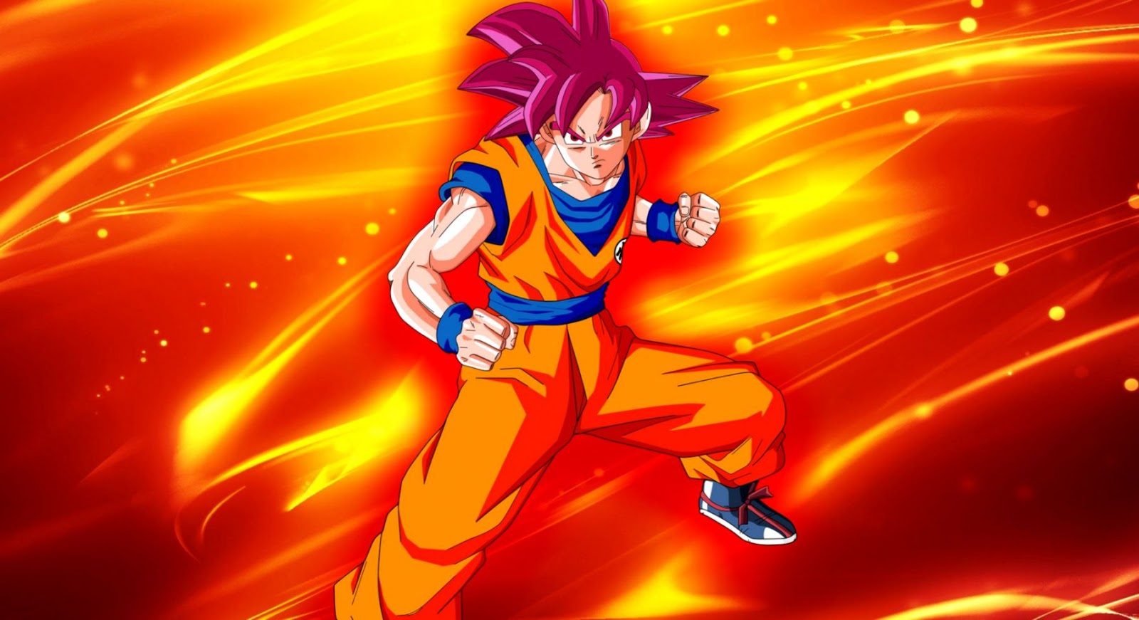 Dragon Ball Goku Super Saiyan God Wallpaper Wallpapers Images