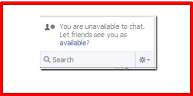 why is my facebook chat unavailable