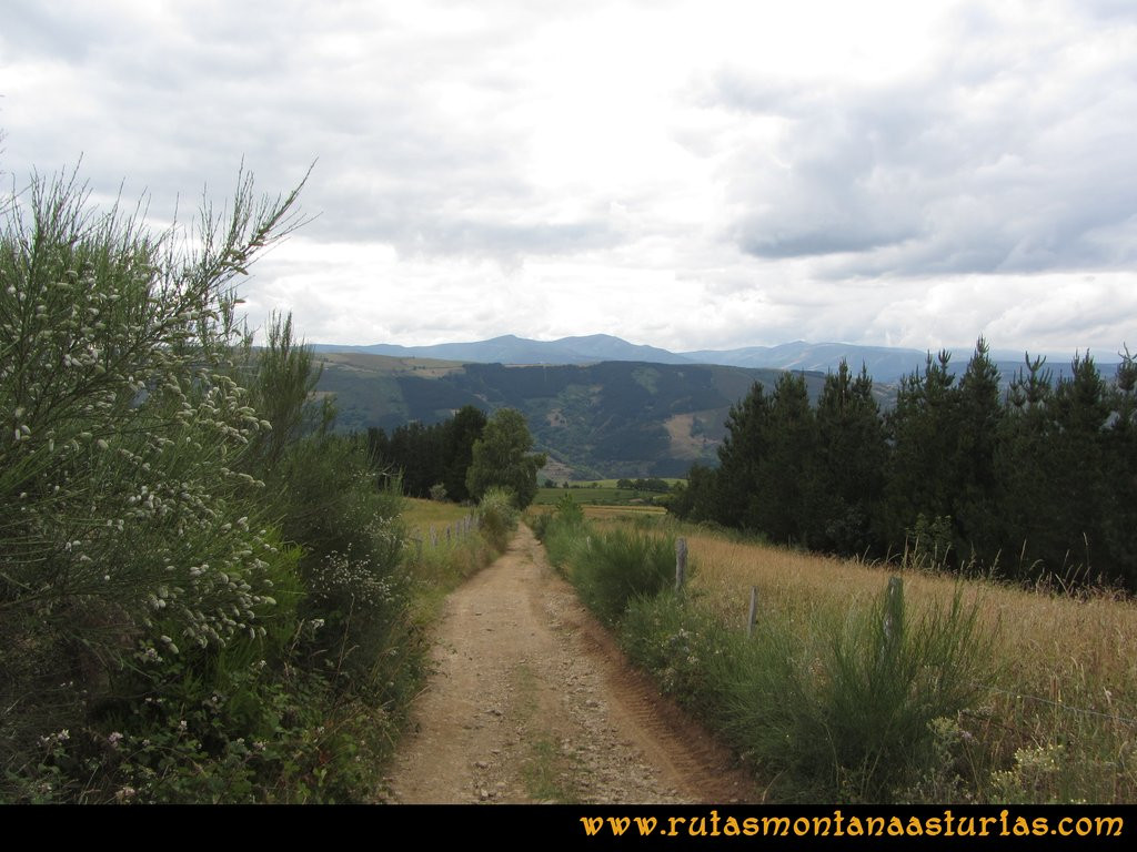 Ruta Cangas - Acebo: Bajando a Curriellos