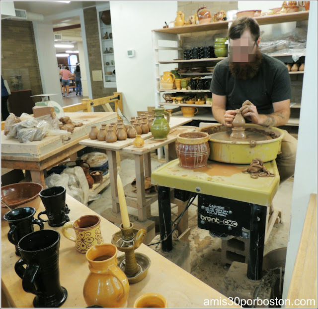 Plimoth Plantation: Craft Center
