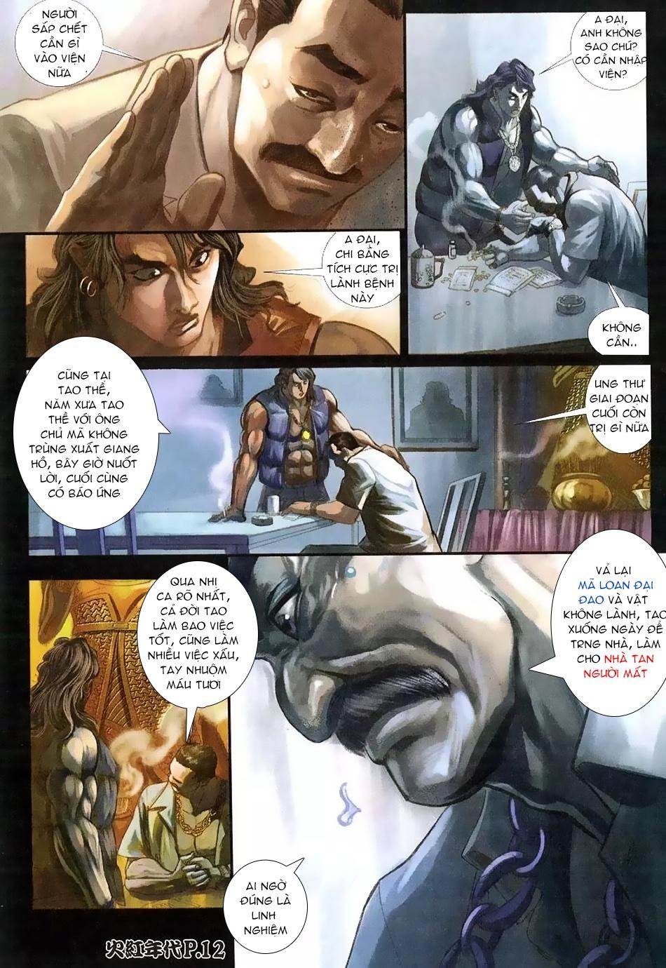 Hỏa Hồng Niên Đại Hắc Cốt Đường chap 112 - Trang 10