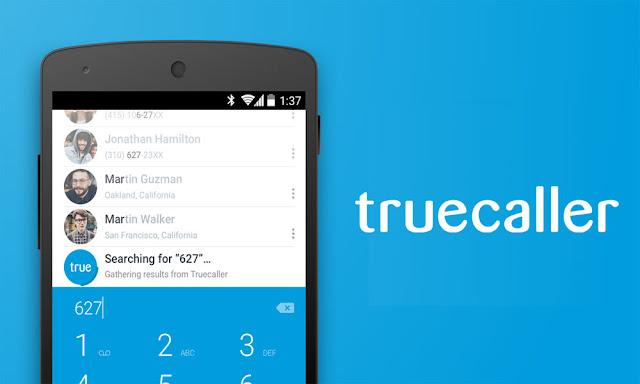 تطبيق Truecaller لتحديد هوية المتصل