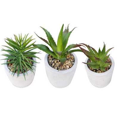 Buy Wholesale Mini Home Decoration Clay Pot with Faux Green Artificial Plants for Home Indoor Outdoor Decoration at NileCorp.com