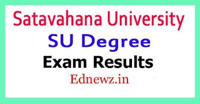Satavahana University Degree Exam Results