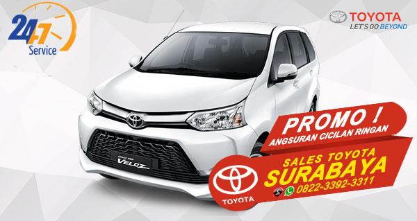 Promo Angsuran Cicilan Ringan Toyota Avanza Veloz Surabaya