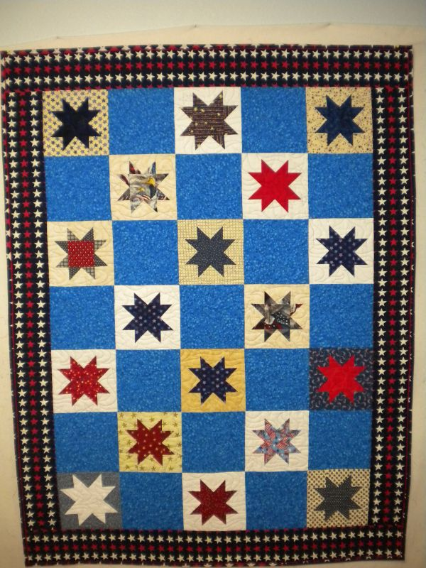 Quilts Of Valor Floating Stars In Idaho