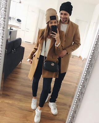 outfits en pareja de invierno tumblr casual 2019