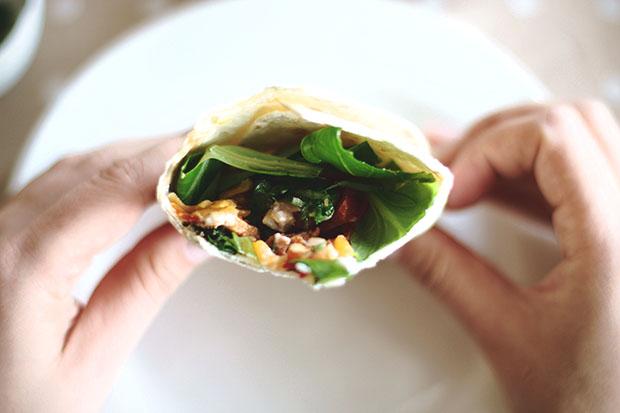 Meksikietiška virtuvė-vištienos fajita