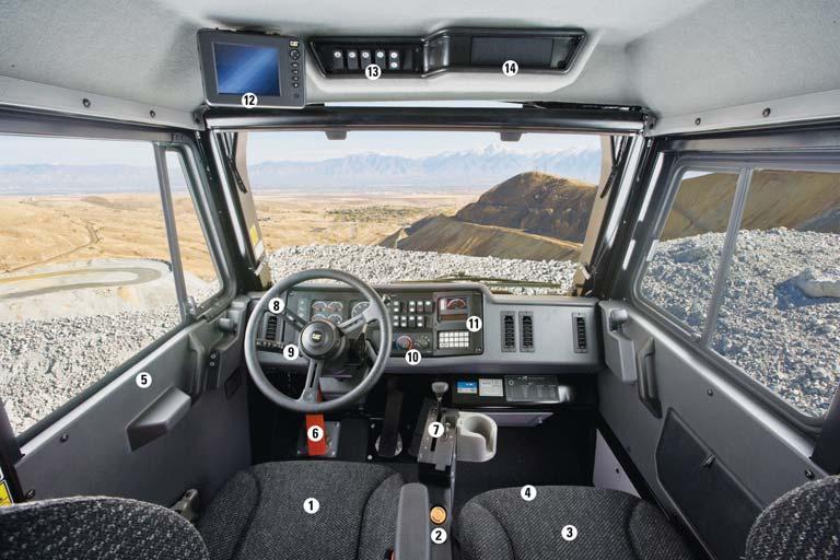 789d Mining Truck Main Features