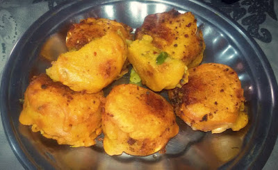 Potato Balls Wada Pav Food Recipe